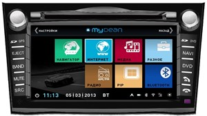 Штатная магнитола Mydean 3061 Black для Subaru Legacy (2009-), Outback (2009-)