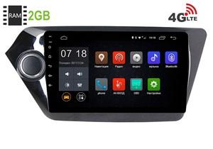 Штатная магнитола LeTrun 1828 Kia Rio Android 6.0.1 9 дюймов (4G LTE 2GB)