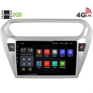 Штатная магнитола LeTrun 1886 Peugeot 301 Android 6.0.1 9 дюймов (4G LTE 2GB)