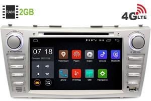 Штатная магнитола LeTrun 1422 Toyota Camry 2006+ 6.0.1 8 дюймов (4G LTE 2GB)