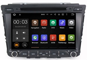 Parafar 4G/LTE для Hyundai Creta 2016-2017 с DVD на Android 7.1.1 (PF407D)
