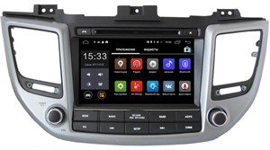 Parafar 4G/LTE для Hyundai Tucson III 2015-2017 с DVD на Android 7.1.1 (PF546D)