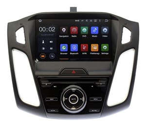 Штатная магнитола Ksize DVA-ZN7010 Ford Focus 2012 - 2014 Android 6.0.1