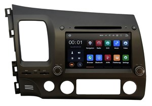 Штатная магнитола Ksize DVA-ZN7019 Honda Civic 4D 2006 - 2011 Android 6.0.1