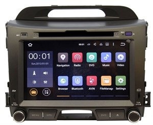 Штатная магнитола Ksize DVA-ZN7032 Kia Sportage 2010+ Android 6.0.1