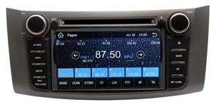Штатная магнитола Ksize DV-SIENSSN Nissan Sentra, Tiida, Bluebird Sylphy 2014+