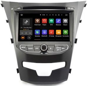 Штатная магнитола Ksize DVA-ZN7055 SsangYong new Actyon, Corando 2013+ Android 6.0.1