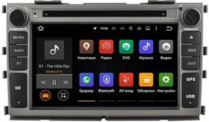 Штатная магнитола Ksize DVA-ZN7027 для Kia Cerato, Forte 2009-2013 на Android 6.0