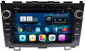 Штатная магнитола Ksize DVA-VS8A001MD для Honda CR-V 2007-2012 на Android 6.0.1