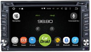 Штатная магнитола Roximo CarDroid RD-1201 для Nissan Универсальная (Android 8.0)