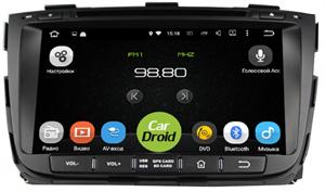 Штатная магнитола Roximo CarDroid RD-2301D для KIA Sorento 2 2013-2019 (Android 9.0) DSP