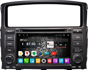 DayStar DS-7007HD для Mitsubishi Pajero 4 на ОС Android 9.0