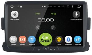 Штатная магнитола Roximo CarDroid RD-3002D для Renault Logan 2 2013-2020 (Android 9.0) DSP