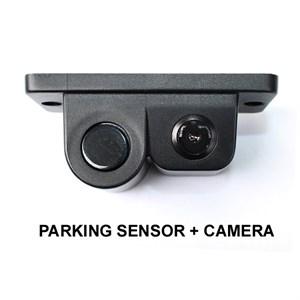 Универсальная камера заднего вида с парктроником в рамке номерного знака (видеопарктроник в рамке)