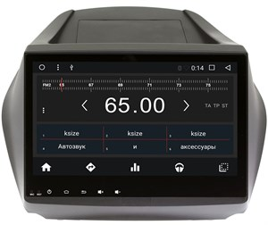 Штатная магнитола Wide Media WM-CF3004NC для Hyundai ix35 2010-2015, Tucson II 2011-2015 Android 7