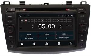 Штатная магнитола Ksize DVA-KR8018T3 для Mazda 3 (BL) 2009-2013 Android 6.0.1