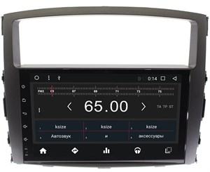 Штатная магнитола Wide Media WM-CF3046NC для Mitsubishi Pajero IV 2006-2017 Android 7