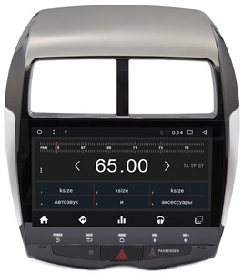 Штатная магнитола Wide Media WM-CF3044NC для Mitsubishi ASX I 2010-2016 Android 7