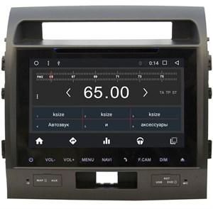 Штатная магнитола Wide Media WM-KR9006MA для Toyota Land Cruiser 200 2007-2015 Android 6.0.1