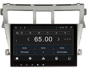 Штатная магнитола Wide Media WM-CF3027NC для Toyota Belta 2005-2012 Android 7