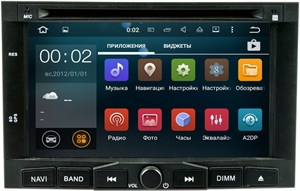 Штатная магнитола LeTrun 1836 для Peugeot 3008-5008, Partner на Android 5.1