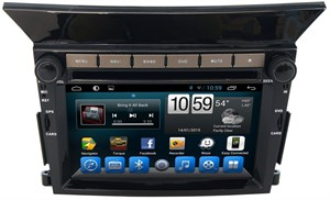 Штатная магнитола Honda Pilot 2008 - 2015 LeTrun 1666 на Android 4.4.4