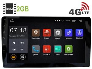 2 DIN Универсальная магнитола LeTrun 2060 Android 6.0.1 9 дюймов (4G LTE 2GB)