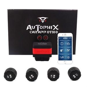 Датчики давления в шинах Carmedia Autophix OT100 TPMS OBD2 Bluetooth внешние