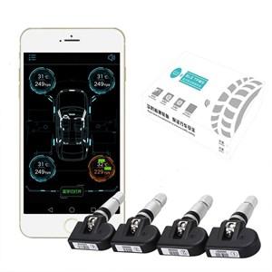 Датчики давления в шинах Bluetooth 4.0 (внутренние) для магнитолы или телефона на Аndroid / iOS