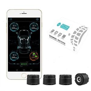 Датчики давления в шинах Bluetooth 4.0 (внешние) для магнитолы или телефона на Аndroid / iOS
