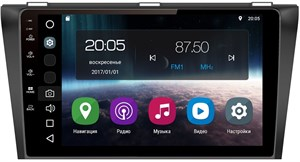 Штатная магнитола FarCar S200 для Mazda 3 (BL) 2009-2013 на Android 8.0 (V034R)