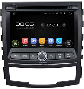CarMedia KD-7067-P3-7 SsangYong Actyon II 2010-2013 Android 7.1