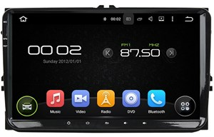 Штатная магнитола CarMedia KD-9613-P3-7 Seat Altea, Leon, Alhambra Android 7.1