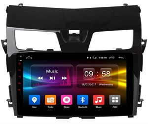 Штатная магнитола CarMedia OL-1665 для Nissan Teana III 2014-2017 на Android 6.0