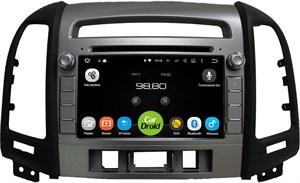 Штатная магнитола Roximo CarDroid RD-2008D для Hyundai SantaFe 2 (Android 8.0) DSP