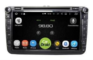Штатная магнитола Roximo CarDroid RD-3701 для Seat (Android 8.0)
