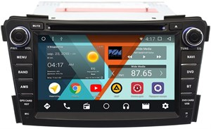 Штатная магнитола Wide Media WM-KR7124NC для Hyundai i40 I 2012-2017 для авто без NAVI Android 7.1.2