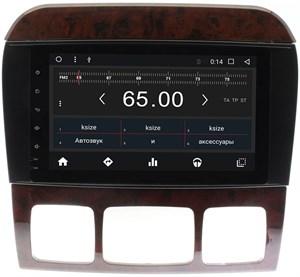 Штатная магнитола Wide Media WM-CF3104NB для Mercedes Benz S-class W220 1998-2005 Android 7.1.2