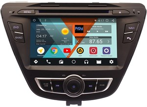 Штатная магнитола Wide Media WM-YL7018NC для Hyundai Elantra V (MD) 2014-2016 Android 7.1.2