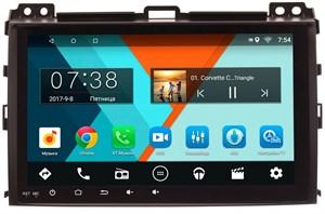 Штатная магнитола Lexus GX 2002-2009 Wide Media MT9004MF на Android 6.0.1 с усилителем