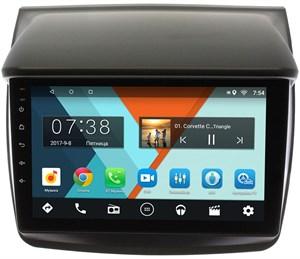 Штатная магнитола Wide Media MT9057MF для Mitsubishi Pajero Sport II, L200 IV 2006-2015 на Android 6.0.1 для авто без Navi