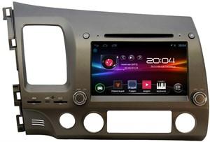 Штатная магнитола Ksize DVA-ZN7019L для Honda Civic 4D 2006-2011 на Android 4.2.2