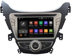 Штатная магнитола Hyundai Elantra V (MD) 2011-2014 LeTrun 2135 на Android 7.1.1
