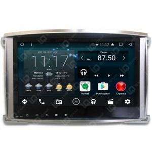 Штатная магнитола IQ NAVI T54-2925C Toyota LC 100 2002-2007 на Android 6.0.1 Quad-Core (4 ядра)