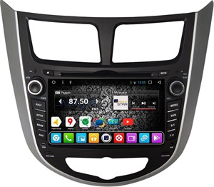 DayStar DS-7011HD для Hyundai Solaris 2010+ на Android 9.0