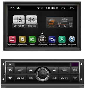 Штатная магнитола FarCar Winca s170 для Mitsubishi Pajero Sport II 2008-2013, L200 IV 2006-2015 на Android 6.0.1 (L094)