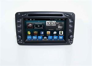 Штатная автомагнитола CarMedia KR-7108-T8 Mercedes C-klasse, CLK-klasse, Vito, Viano, G-klasse на Android 7.1