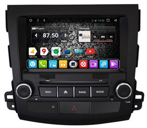 DayStar DS-8007HD для Peugeot 4007 на Android 9.0