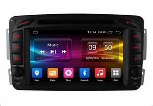 CarMedia OL-7948-MTK для Mercedes C-klasse (W203), CLK-klasse (W209), Vito, Viano, G-klasse (W463) на Android 6.0