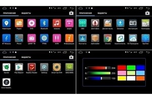 Штатная магнитола CarMedia OL-7936-b-8 для Opel Universal (черная) на Android 6.0.1